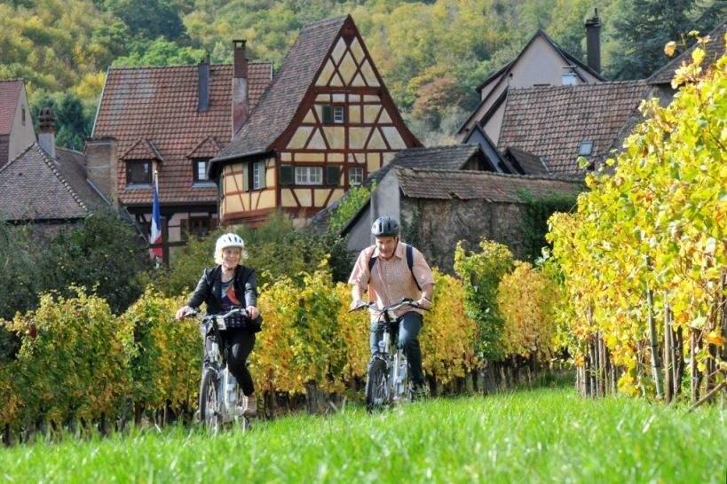Alsace à vélo éléctrique by Diana hotels collection