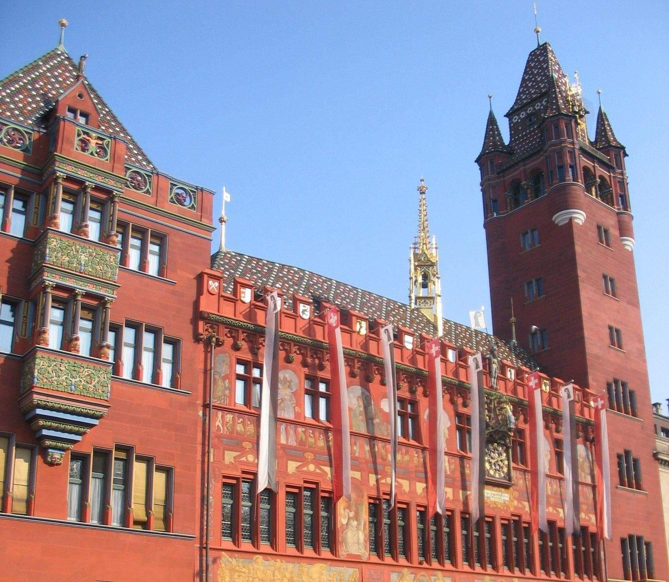 Bâle Hôtel de Ville