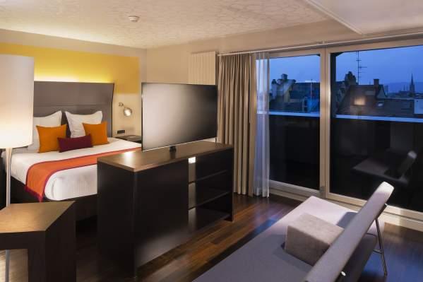 Junior Suite à l'hôtel.D