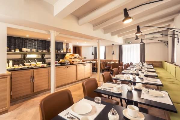 Breakfast à l'hôtel Du Dragon